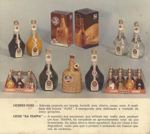 Catálogo Licores Kunz (Flores da Cunha, 1970).